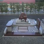 【洋型オリジナルデザイン墓石】ありがとう 西尾市 貝吹墓地