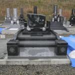 【洋型オリジナルデザイン墓石】古瀬間