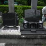【洋型オリジナルデザイン墓石】岡崎市 六名真宮墓地