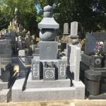 【和型墓石】岡崎市 大聖寺