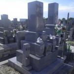 【和型墓石】豊田市 西ノ堂墓地