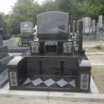 【和型墓石】やすらぎ